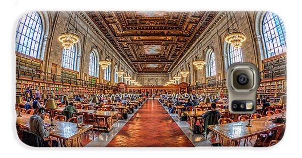 New York Public Library Main Reading Room I Galaxy S6 Case