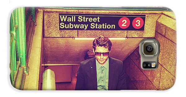 New York Subway Station Galaxy S6 Case