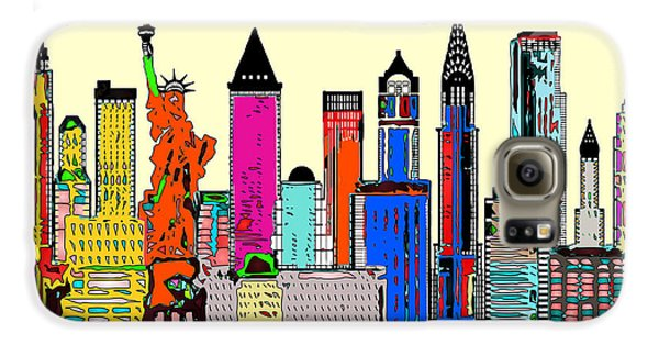 New York - The Big City Galaxy S6 Case