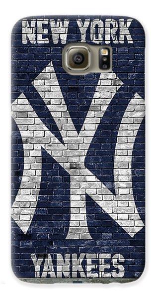 New York Yankees Brick Wall Galaxy S6 Case
