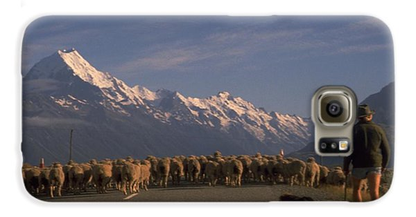 New Zealand Mt Cook Galaxy S6 Case by Travel Pics