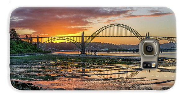 Newport Or Greeting Galaxy S6 Case