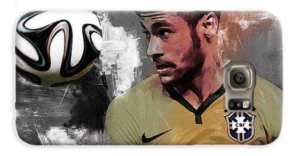 Neymar 051a Galaxy S6 Case by Gull G