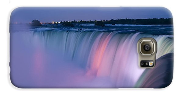 Niagara Falls At Dusk Galaxy S6 Case