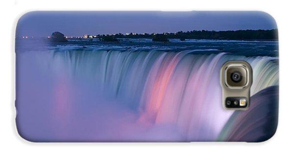 Niagara Falls At Dusk Galaxy S6 Case