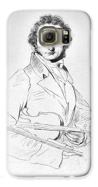 Nicolo Paganini (1782-1840) Galaxy S6 Case by Granger