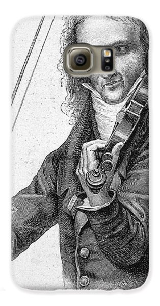 Nicolo Paganini Galaxy S6 Case by Granger