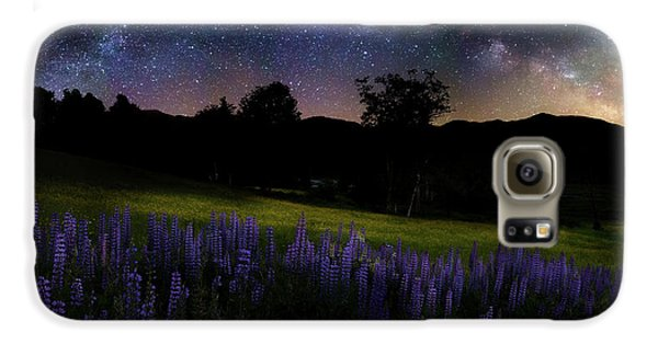 Galaxy S6 Case featuring the photograph Night Flowers by Bill Wakeley