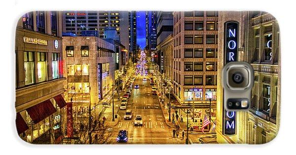 Night In Seattle Galaxy S6 Case