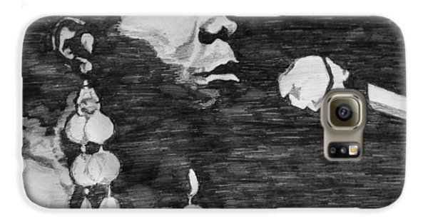 Nina Simone Galaxy S6 Case by Rachel Natalie Rawlins