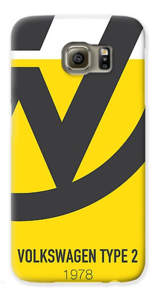 Knight Galaxy S6 Case - No009 My Little Miss Sunshine Minimal Movie Car Poster by Chungkong Art