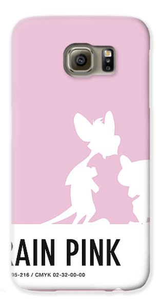 No01 My Minimal Color Code Poster Pinky And The Brain Galaxy S6 Case