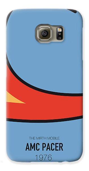Knight Galaxy S6 Case - No010 My Waynes World Minimal Movie Car Poster by Chungkong Art