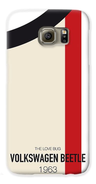 Knight Galaxy S6 Case - No014 My Herbie Minimal Movie Car Poster by Chungkong Art