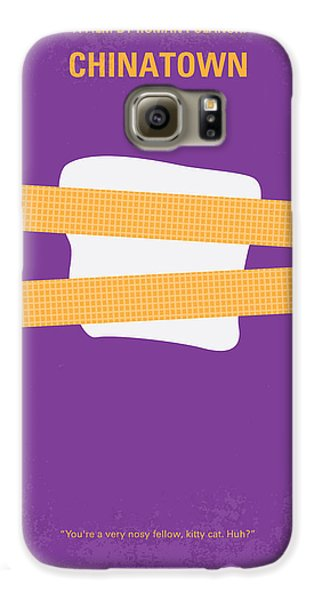 No015 My Chinatown Minimal Movie Poster Galaxy S6 Case