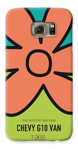 Knight Galaxy S6 Case - No020 My Scooby Doo Minimal Movie Car Poster by Chungkong Art