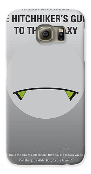 Aliens Galaxy S6 Case - No035 My Hitchhiker Guide Minimal Movie Poster by Chungkong Art