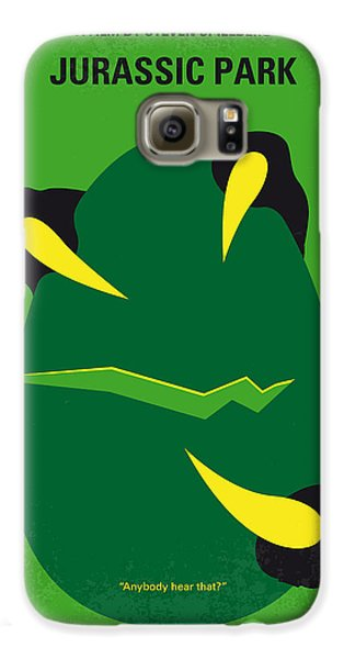 No047 My Jurassic Park Minimal Movie Poster Galaxy S6 Case by Chungkong Art