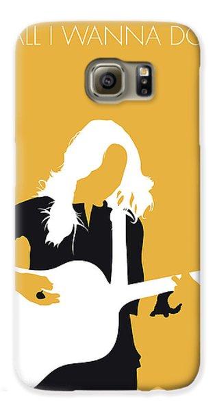 Crow Galaxy S6 Case - No074 My Sheryl Crow Minimal Music Poster by Chungkong Art