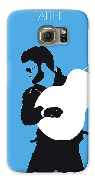 Rhythm And Blues Galaxy S6 Case - No089 My George Michael Minimal Music Poster by Chungkong Art