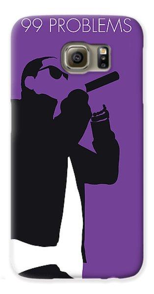 Jay Z Galaxy S6 Case - No101 My Jay-z Minimal Music Poster by Chungkong Art