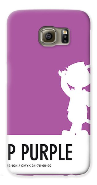 Mice Galaxy S6 Case - No11 My Minimal Color Code Poster Top Cat by Chungkong Art
