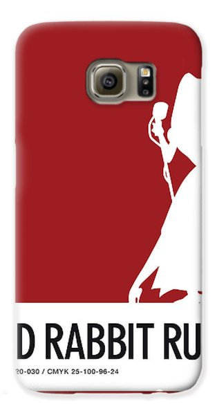 Mice Galaxy S6 Case - No14 My Minimal Color Code Poster Jessica Rabbit by Chungkong Art