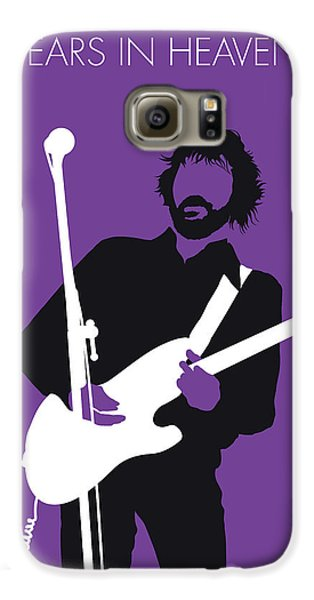 No141 My Eric Clapton Minimal Music Poster Galaxy S6 Case