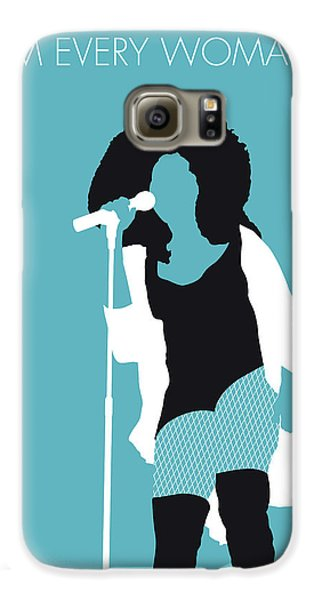 Rhythm And Blues Galaxy S6 Case - No155 My Chaka Khan Minimal Music Poster by Chungkong Art