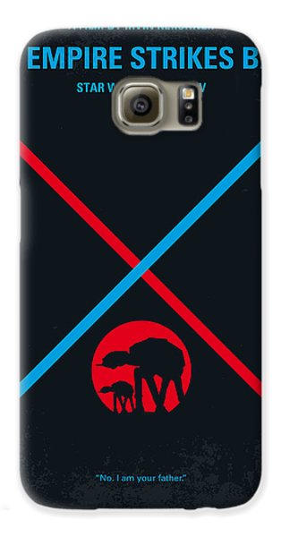 Knight Galaxy S6 Case - No155 My Star Wars Episode V The Empire Strikes Back Minimal Movie Poster by Chungkong Art