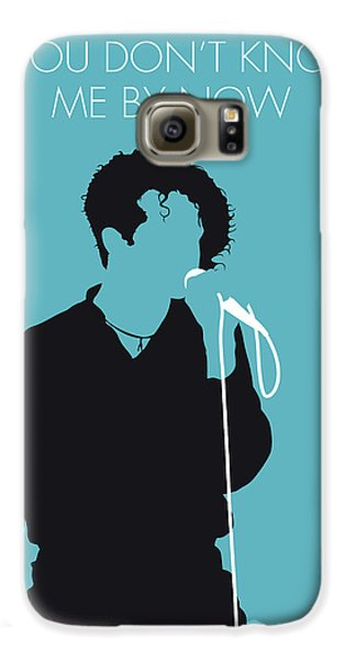 Rhythm And Blues Galaxy S6 Case - No165 My Simply Red Minimal Music Poster by Chungkong Art
