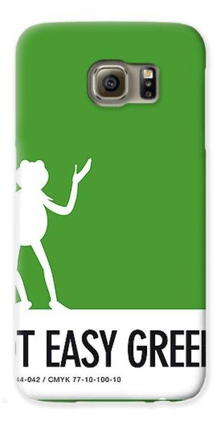 Amphibians Galaxy S6 Case - No25 My Minimal Color Code Poster Kermit  by Chungkong Art