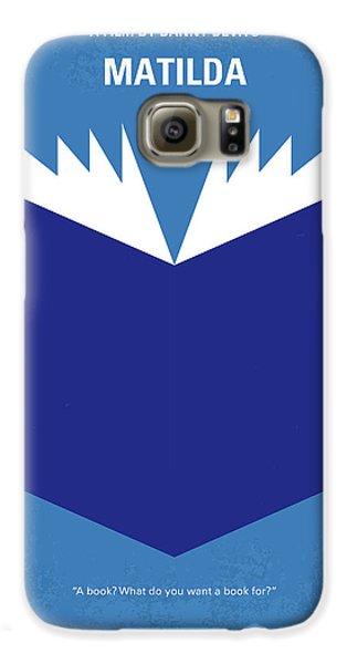Magician Galaxy S6 Case - No291 My Matilda Minimal Movie Poster by Chungkong Art