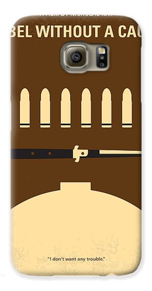 No318 My Rebel Without A Cause Minimal Movie Poster Galaxy S6 Case by Chungkong Art