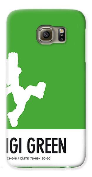 Daisy Galaxy S6 Case - No34 My Minimal Color Code Poster Luigi by Chungkong Art
