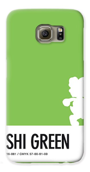 Daisy Galaxy S6 Case - No36 My Minimal Color Code Poster Yoshi by Chungkong Art