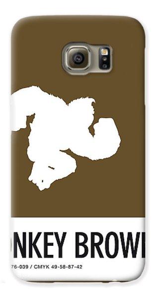 Daisy Galaxy S6 Case - No37 My Minimal Color Code Poster Donkey Kong by Chungkong Art