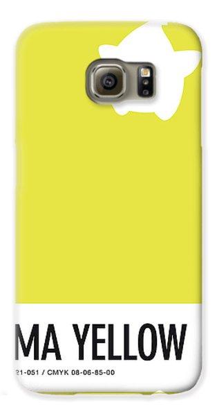 Daisy Galaxy S6 Case - No40 My Minimal Color Code Poster Luma by Chungkong Art