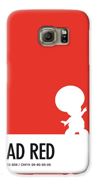Daisy Galaxy S6 Case - No41 My Minimal Color Code Poster Toad by Chungkong Art