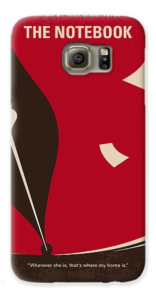No440 My The Notebook Minimal Movie Poster Galaxy S6 Case