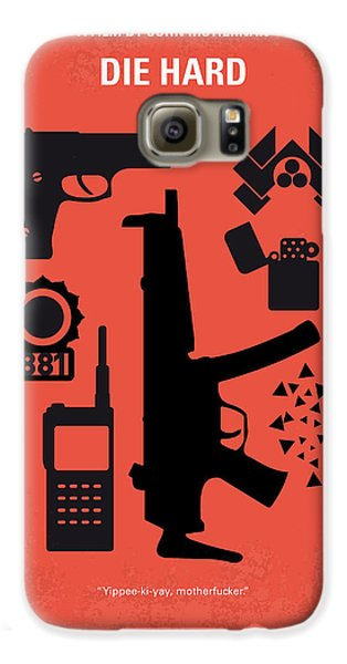 Los Angeles Galaxy S6 Case - No453 My Die Hard Minimal Movie Poster by Chungkong Art