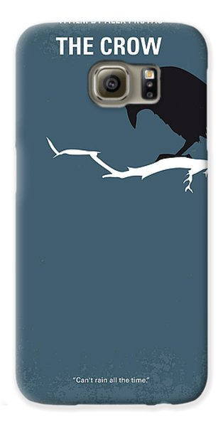Crow Galaxy S6 Case - No488 My The Crow Minimal Movie Poster by Chungkong Art