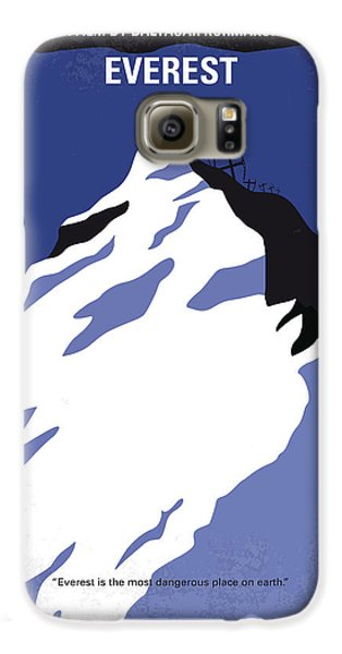 Robin Galaxy S6 Case - No492 My Everest Minimal Movie Poster by Chungkong Art