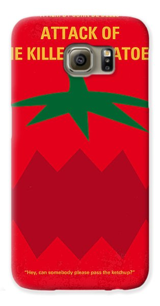 Tomato Galaxy S6 Case - No499 My Attack Of The Killer Tomatoes Minimal Movie Poster by Chungkong Art