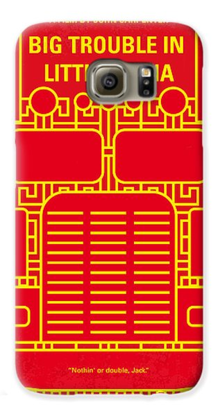 Truck Galaxy S6 Case - No515 My Big Trouble In Little China Minimal Movie Poster by Chungkong Art