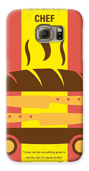 No524 My Chef Minimal Movie Poster Galaxy S6 Case by Chungkong Art