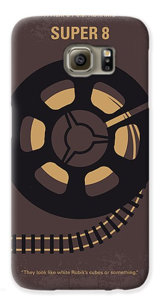 Truck Galaxy S6 Case - No578 My Super 8 Minimal Movie Poster by Chungkong Art