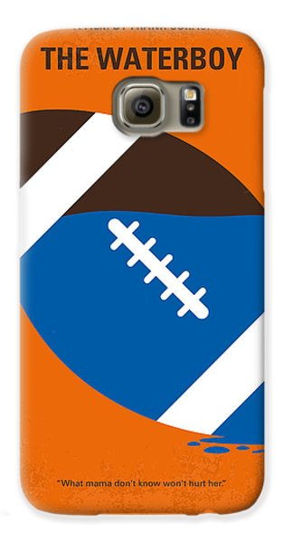 No580 My The Waterboy Minimal Movie Poster Galaxy S6 Case by Chungkong Art