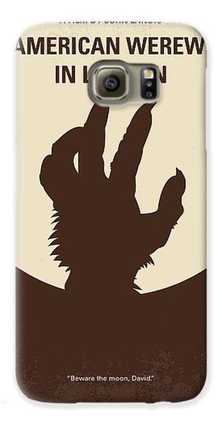 No593 My American Werewolf In London Minimal Movie Poster Galaxy S6 Case