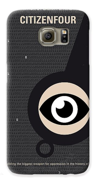 No598 My Citizenfour Minimal Movie Poster Galaxy S6 Case by Chungkong Art